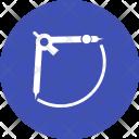 Measurement Compass Device Icon