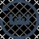 Measurement Reset Restore Icon