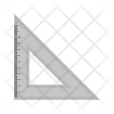 Measurement Ruler Triangle Icon