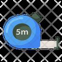 Inches Tape Measuring Tape Measurement Tape Icon