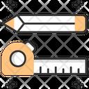 Measurement Tape Measurement Reel Measurement Icon
