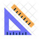 Rulers Scale Geometry Tool Icon