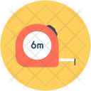 Measuring Tape Inches Icon