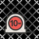 Measuring Tape Scale Icon