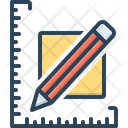 Yard Yardage Scale Icon