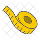 Measuring Measure Tape Icon