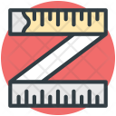 Measuring Meter Tape Icon