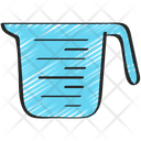 Measuring Jug Baked Cooking Icon