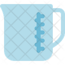 Measuring Cup Water Icon