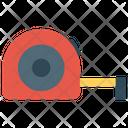 Measuring Meter Length Measurement Measurement Tape Icon