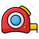 Measuring Tape Meter Tape Construction Tape Icon