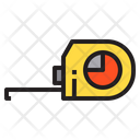 Measuring Tape Tool Repair Icon