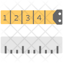 Tape Measure Measuring Icon