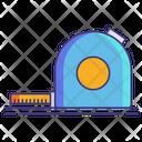 Measuring Tape Measurement Inches Tape Icon