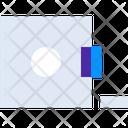 Building Measur Measuring Tape Icon
