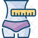 Measuring Waist Icon