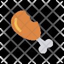 Meat Legpiece Beaf Icon