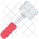 Meat Hammer Grill Icon