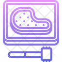 Meat Beating Grill Icon