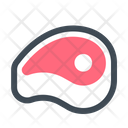 Food Slice Meat Icon
