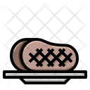 Meat Slice Steak Icon