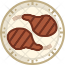 Meat Grill Ribs Icon