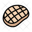 Meat Grilled Beef Icon