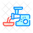 Meat Grinder Color Icon