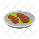 Meat Beef Dish Icon