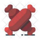 Meat Grilled Sausage Icon