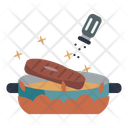 Bacon Salt Shaker Dish Icon