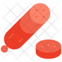 Meat Salami Food Icon