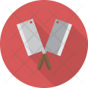 Meat Cleaver Kitchen Icon
