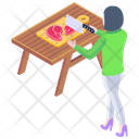 Meat Cutting Icon