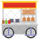 Meat Food Meat Stall Food Point Icon