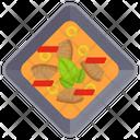 Meat Gravy Gravy Curry Icon