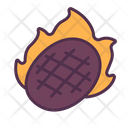 Meat Beef Grill Icon