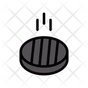 Grilled Meat Cooking Icon
