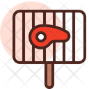 Meat Grilled Grill Meat Grilling Icon