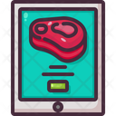 Food Meat Online Order Icon