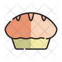 Food Pastry Baked Icon