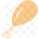 Meat Rib Icon
