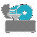 Meat Slicer Icon