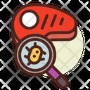 Meat Virus Meat Disease Meat Bacteria Icon