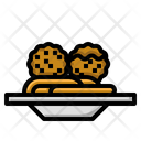 Meatball Food Meat Icon