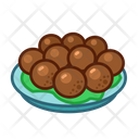 Meatball Food Meal Icon