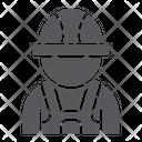 Auto Mechanic Person Icon