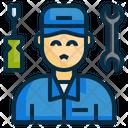 Mechanic Engineer Service Icon