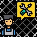 Mechanic Consult Device Icon