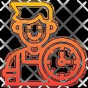 Mechanic Time Device Icon
